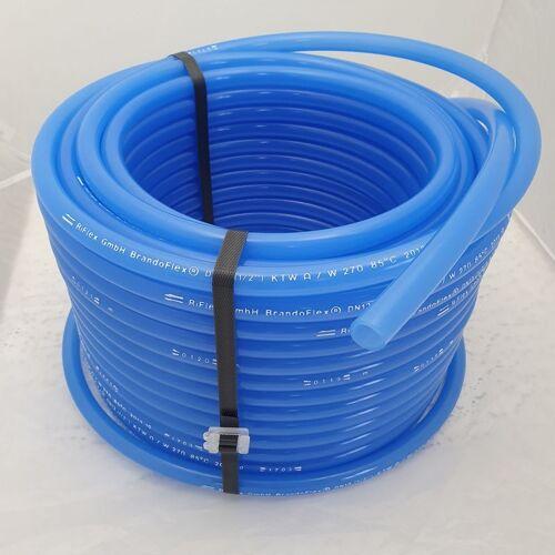 Trinkwasserschlauch in blau für die mobile Trinkwasser- oder