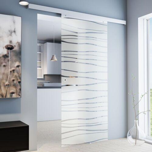 Inova Star - Tür Schiebetür Glas Mistral 900 x 2035 Zimmertür