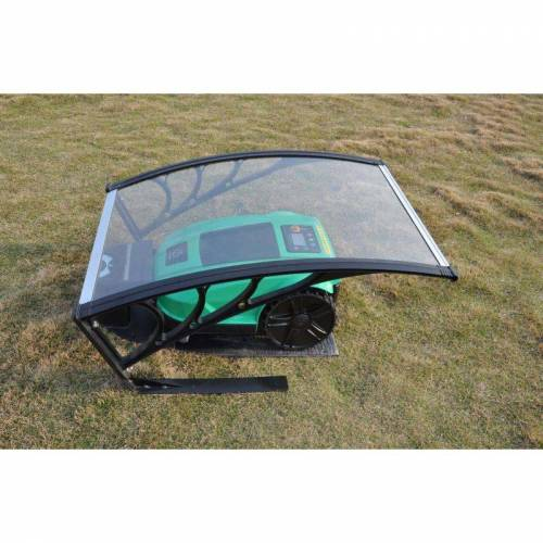 VHBW Polycarbonat Regenschutz, Garage, Cover für Rasenmäher, Rasenroboter