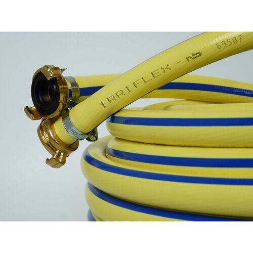 Tricoflex Wasserschlauch Irriflex PVC, gelb 1' m.Kupl 50m
