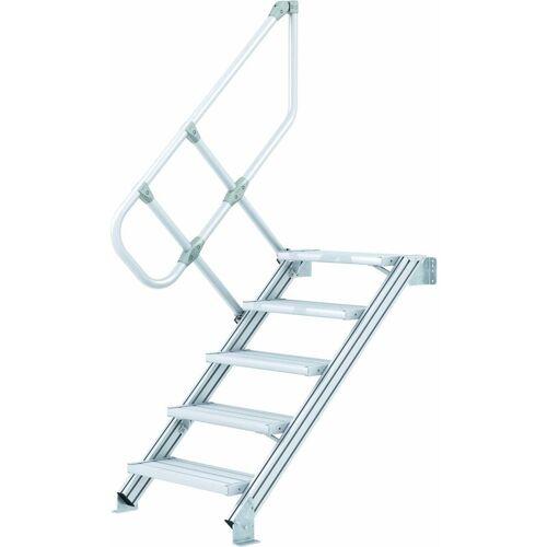 ZARGES LM-Treppe 45° 15 Stufen, 600 mm breit, Höhe 3,22 m - Zarges