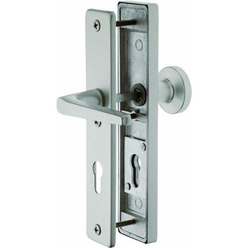 ALPERTEC Schutzbeschlag, Türbeschlag Alu F1 für Haustüren mit