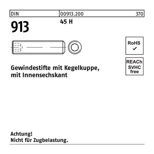 DIVERSE Gewindestift Gewindestift DIN 913/ISO 4026