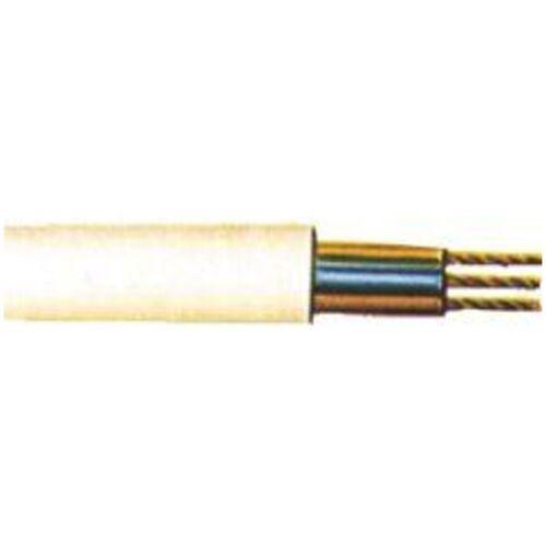 KABELEXPRESS PVC-Schlauchleitung H05VV-F3G1,5 mm2, 10m-Ring, weiß - Kabelexpress