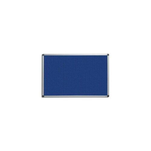 CERTEO Pinnwand   Filz   BxH 180 x 120 cm   Blau Pinnwand Blau Filztafel