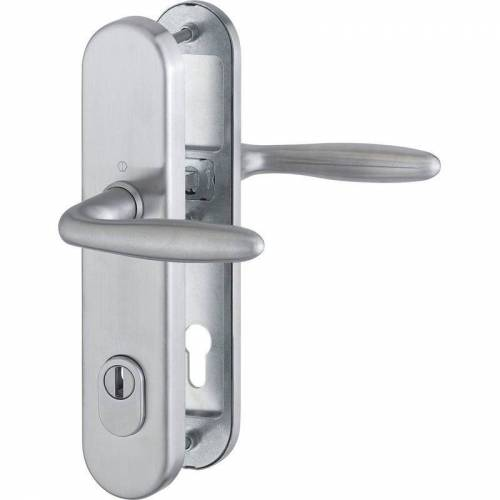 HOPPE Haustür Eingangstür Sicherheits- Drückergarnitur VERONA - DIN-Norm