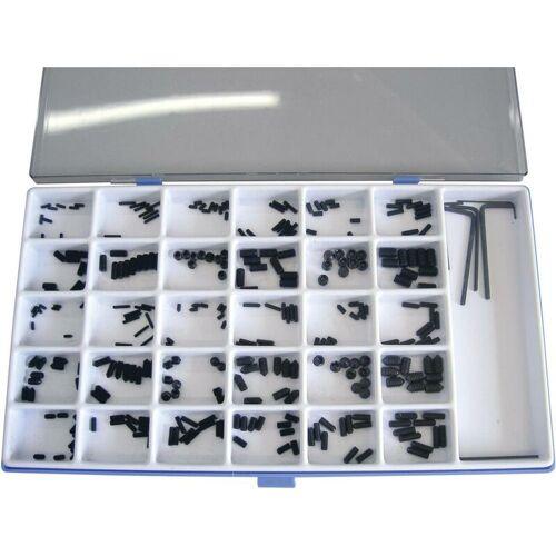 TOOLCRAFT 886327 Madenschrauben-Sortiment Stahl 306St. C68254 - Toolcraft