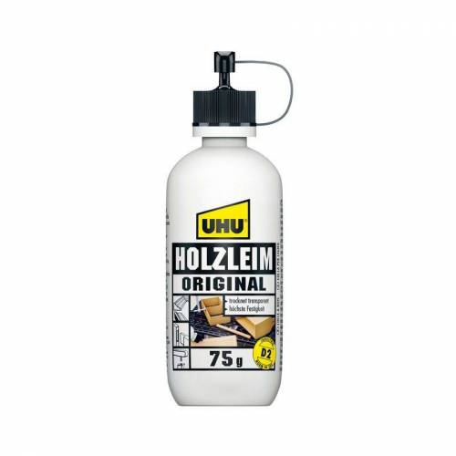 UHU GMBH & CO. KG UHU Holzleim Original EN 204 (D2) ohne Lösungsmittel Flasche 75g