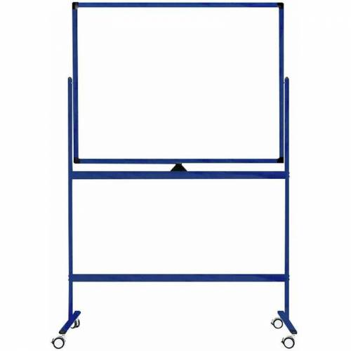 Ivol - Fahrbares Whiteboard 'Color' - Blau - 100 x 150 cm