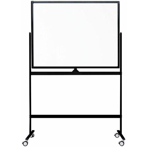 Ivol - Fahrbares Whiteboard 'Color' - Schwarz - 120 x 180 cm