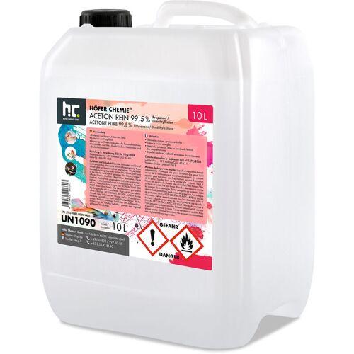 HöFER CHEMIE 2 x 10 Liter Aceton rein 99,5% - HöFER CHEMIE