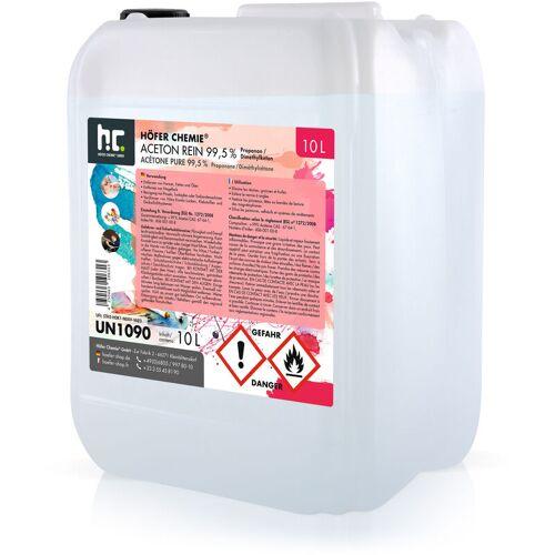 HöFER CHEMIE 3 x 10 Liter Aceton rein 99,5% - HöFER CHEMIE