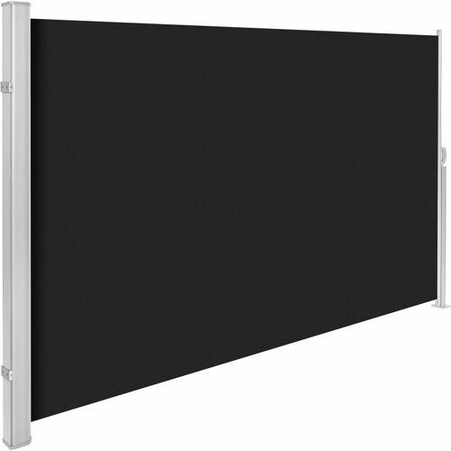 TECTAKE Aluminium Seitenmarkise - Windschutz, Sichtschutzrollo, Seitenmarkise