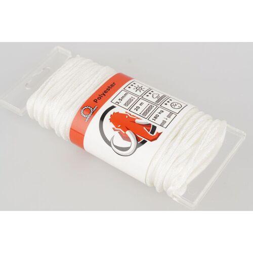 MAMUTECH Mamutec rope weißer Polyester 3,5 mm x 20 m