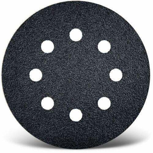 MENZER 50 Klett-Schleifscheiben f. Exzenterschleifer, Ø 125 mm / 8-Loch / K150
