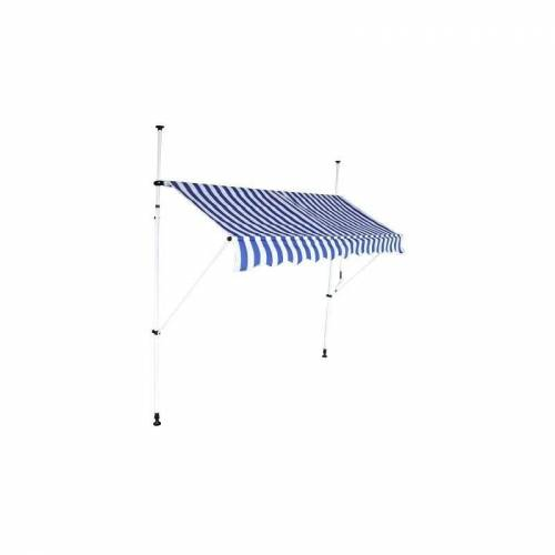Interouge - Markise 2,50 m manuell versenkbare Dachmarkise mit