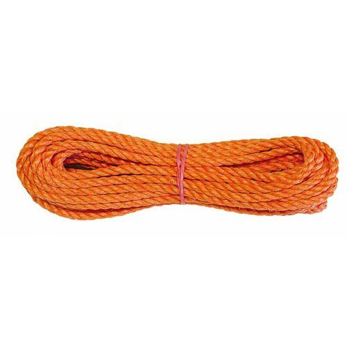 VORMANN PP-Seil gedreht, orange 10 mm x 20 m - orange - Vormann