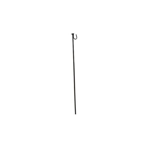 RS PRO Stahl schwarz Sicherheitszaun / Packung a 5 Stück - Rs Pro
