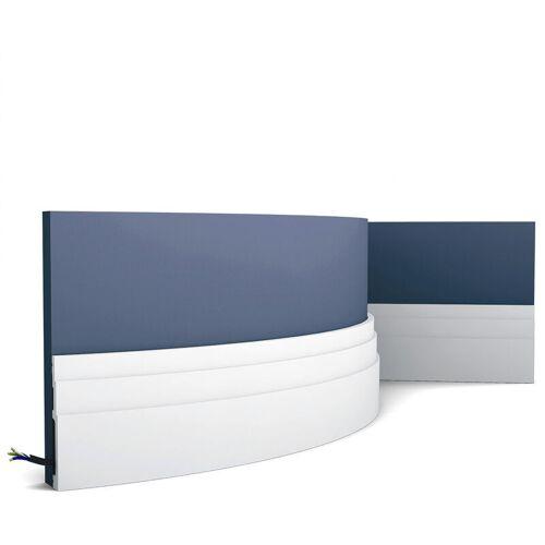 ORAC Sockelleiste Decor SX180F MODERN HIGH LINE Flexible Leiste Zierleiste