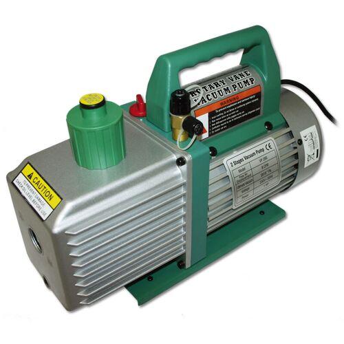WILTEC Unterdruckpumpe Pumpe 2 stufig 224 L 8 cfm 0,3 Pa