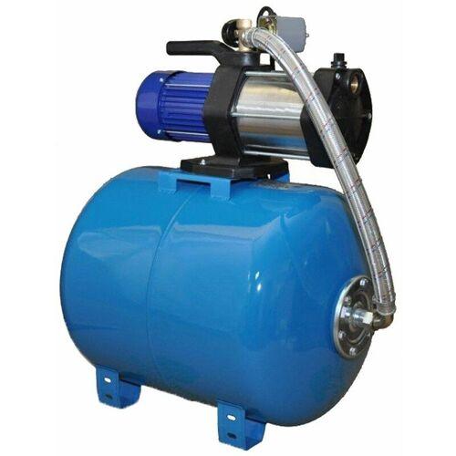 OMNI Wasserpumpe 1100W 90 L/MIN 80L Druckbehälter Gartenpumpe Hauswasserwerk