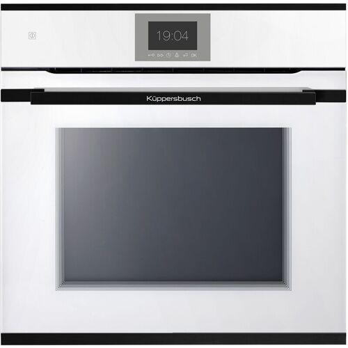 KÜPPERSBUSCH BP 6550.0 W4 Pyro-Backofen weiß mit Design-Kit Gold - Küppersbusch