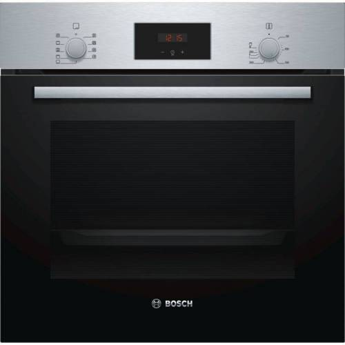 Bosch Einbau-Backofen Einbauherd HBF114ESO Edelstahl Serie 2 - Bosch