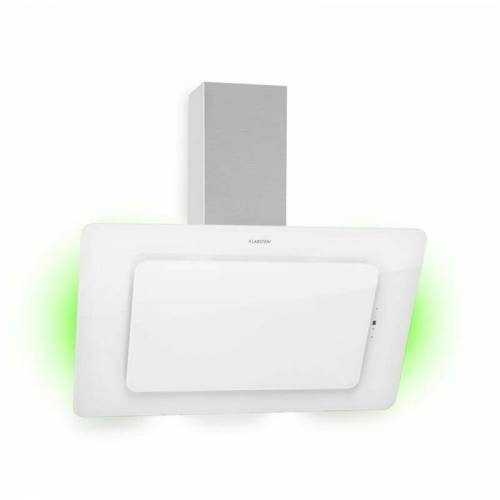 KLARSTEIN Helena 90 Dunstabzugshaube 595 m³/h LED-Display weiß