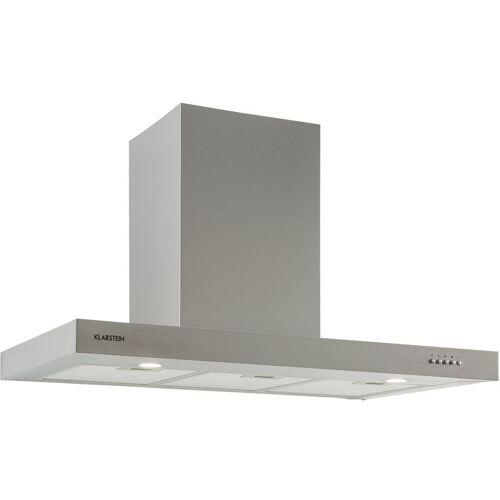 Klarstein - Zarah 90 Dunstabzugshaube 90cm Abluft: 600 m³/h LED