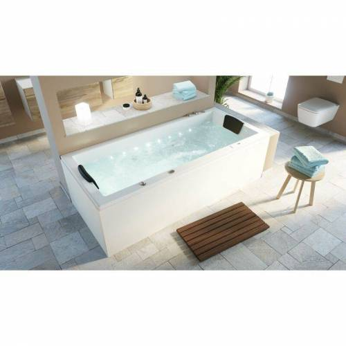Emotion - Deluxe Whirlpool Set OMEGA ULTRA 200 mit LED-Beleuchtung