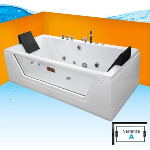 TRENDBAD24 GMBH & CO. KG AcquaVapore Whirlpool Pool Badewanne Wanne A1813NA mit
