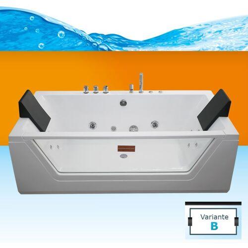 TRENDBAD24 GMBH & CO. KG AcquaVapore Whirlpool Pool Badewanne Wanne A1813NB mit