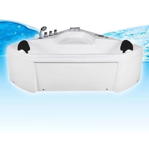 TRENDBAD24 GMBH & CO. KG Whirlpool Pool Badewanne Eckwanne Wanne A1402R-ALL 135x135 +