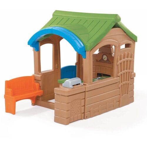 STEP2 Spielhaus Gather&Grille Kinderspielhaus Kunststoff 180x130 cm - Step2