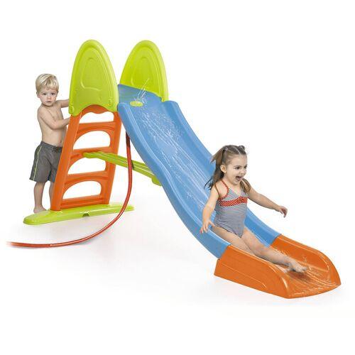 FEBER Kunststoff Gartenrutsche mit Wasser Super Mega Slide - Feber