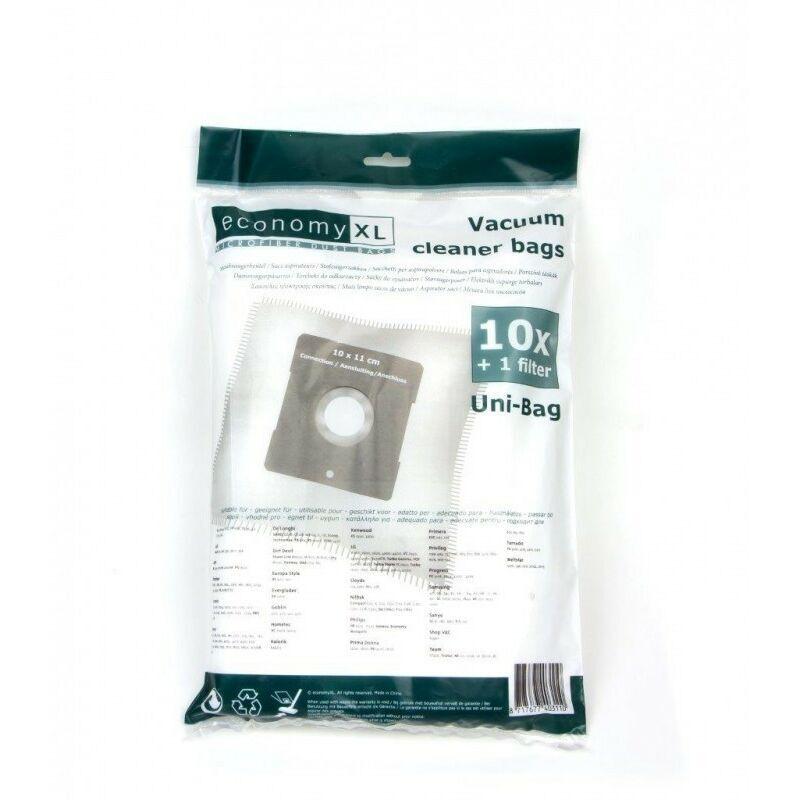 VARIANT 10 Staubsaugerbeutel passend für Quigg BS 1400
