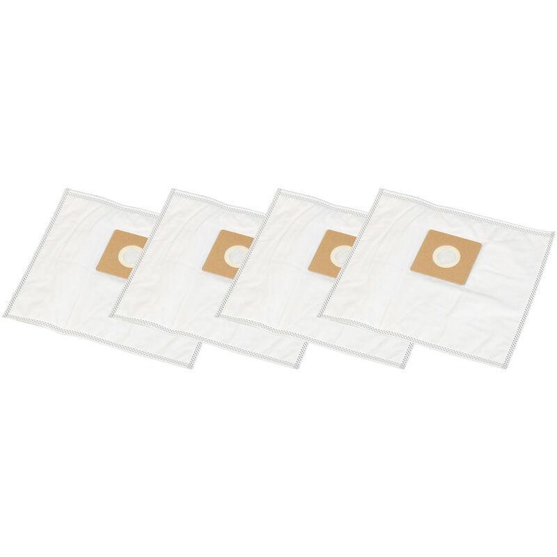 HOSSI'S WHOLESALE 4 Staubsaugerbeutel geeignet für Quigg BS 57/5, BS 59/1