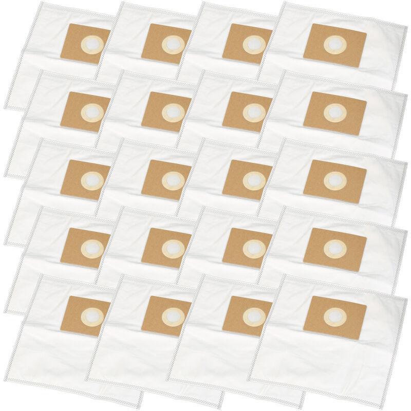 HOSSI'S WHOLESALE 20 Staubsaugerbeutel geeignet für Quigg NTS 1000