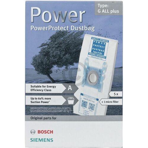 Bosch Siemens Staubsaugerbeutel & Mikrofilter Staubsauger 00577549