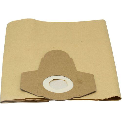 Grizzly Tools - Papierfilterbeutel 20 L, 5er-Pack (hohe Reißfestigkeit,