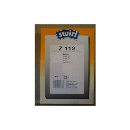 Swirl Staubsaugerbeutel Z112 / Z 112 für Zelmer Staubsauger Wodnik 619