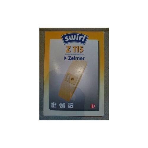 Swirl Staubsaugerbeutel Z115 / Z 115 für Zelmer Staubsauger Twist /