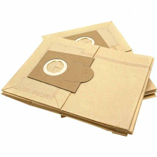 vhbw 10 Staubsaugerbeutel Filtertüten aus Papier für Staubsauger Krups