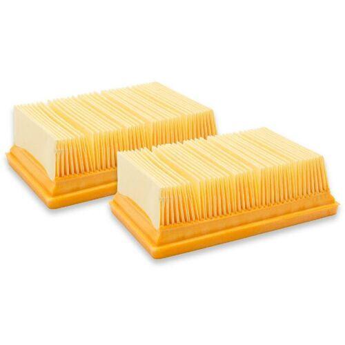 VHBW ® 2x Flachfaltenfilter Filter Lamellenfilter wie 2.863-005.0 für