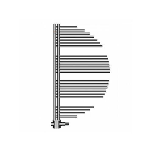 MERT-RADIATOR Design Badheizkörper AYCAN Weiss Chrom Heizung Bad Heizkörper