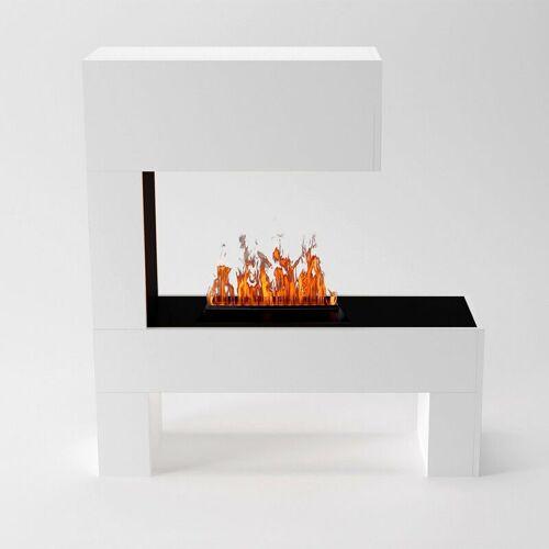 GLOW FIRE Mozart Elektrokamin Opti-Myst Cassette 500 Ohne Holzdekoration - Glow