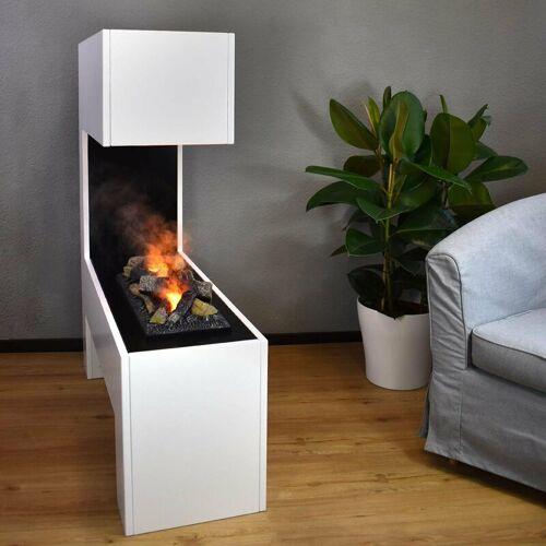 GLOW FIRE Mozart Elektrokamin Opti-Myst Cassette 600 Mit Holzdekoration - Glow