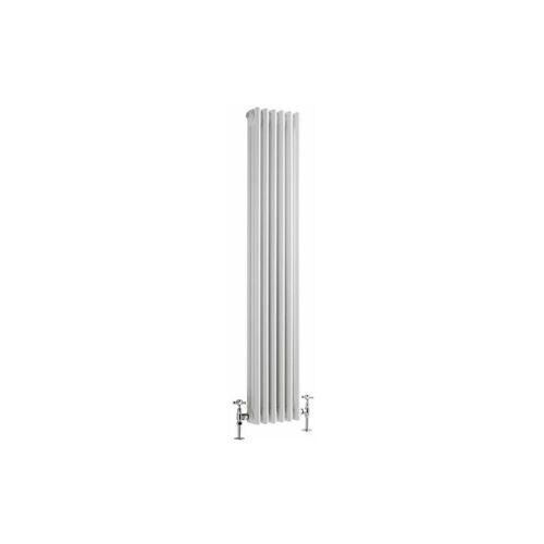 HUDSON REED Heizkörper Regent - Vertikaler Röhrenheizkörper aus Stahl - 1500 x 290
