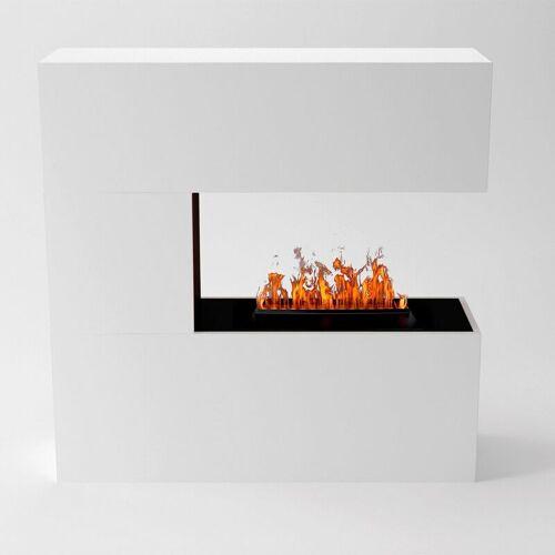 GLOW FIRE Schiller Elektrokamin Opti-Myst Cassette 500 Ohne Holzdekoration - Glow