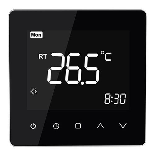 HAPPYSHOPPING Schwarz Elektroheizung Smart-Thermostat